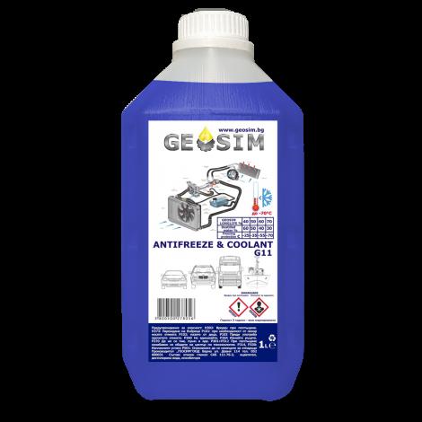 Geosim - Антифриз Син G11 1L Концентрат