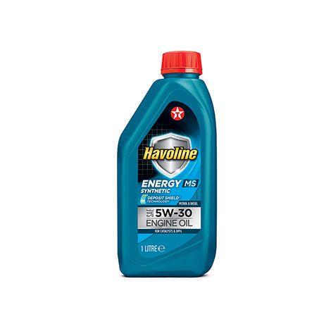 TexacoHAVOLINE ENERGY MS  5W30 1L