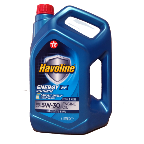 Texaco HAVOLINE ENERGY EF  5W30 4L