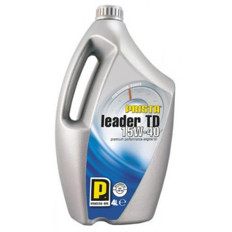 Prista Leader TD SAE 15W40 4L