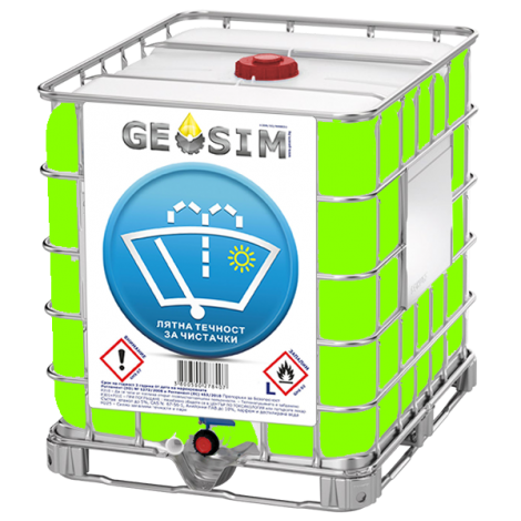 GEOSIM - Лятна Течност за чистачки 1000л