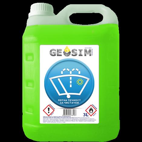 GEOSIM - Лятна Течност за чистачки 3л