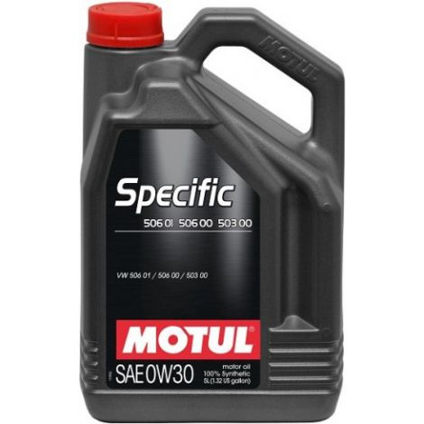 Motul SPECIFIC 506 01 506 00 503 00 0W30 5L