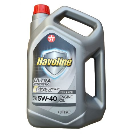 Texaco Havoline Ultra 5W40 4L
