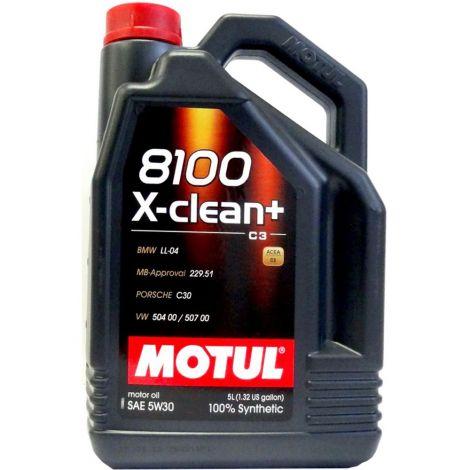 Motul 8100 X-CLEAN + 5W30 5L