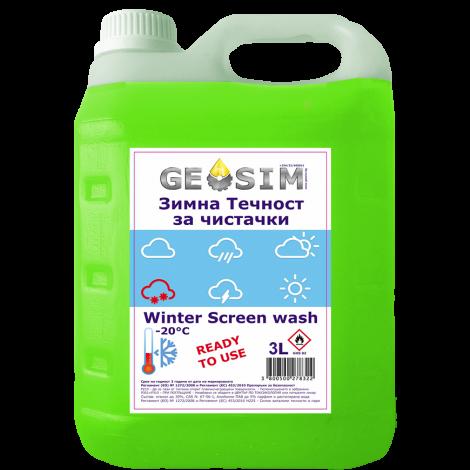 Geosim - Зимна течност за чистачки 3л